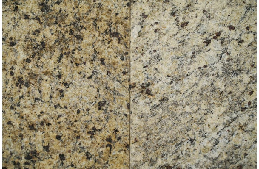 Granito Giallo Crystal Brushed 40X40x1.2 Prom