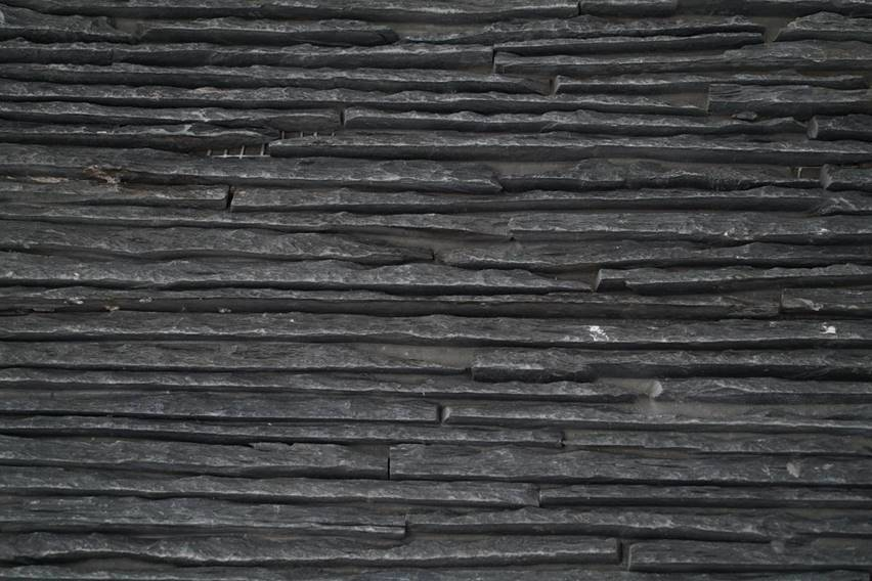Cuarcita Charcoal Ministrips Panels 60X15