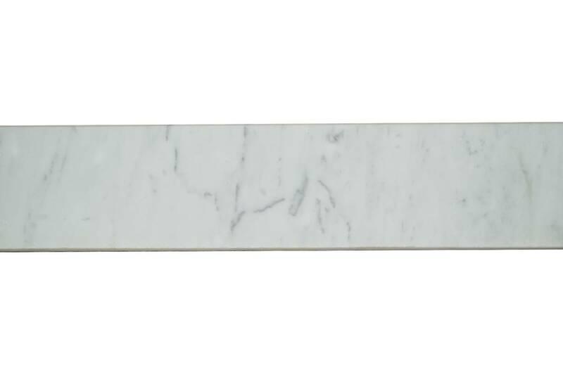 Marmol Blanco Carrara Zoclo Biselado De 8Xdif