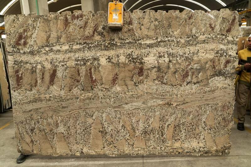 Granito Capuccino C/Veta Lámina