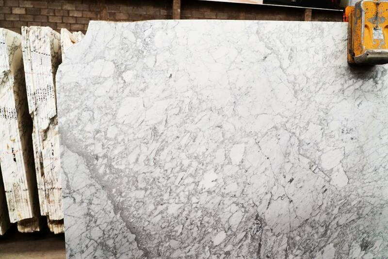 Mármol Blanco Carrara Lámina Extra Seleccionado