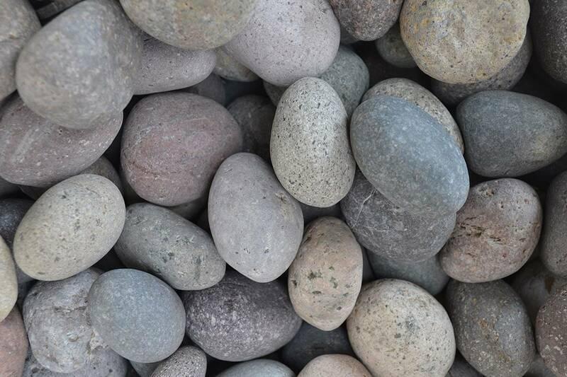 Piedra Medallon Diferentes Colores Med.