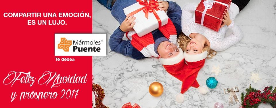 Feliz Navidad y Prospero 2017 - Mármoles Puente