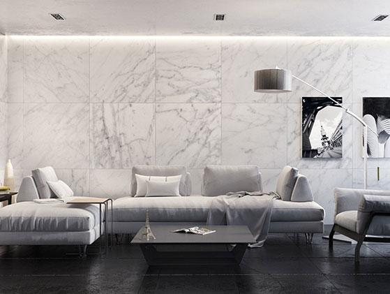 M rmol blanco carrara extra for Color marmol carrara