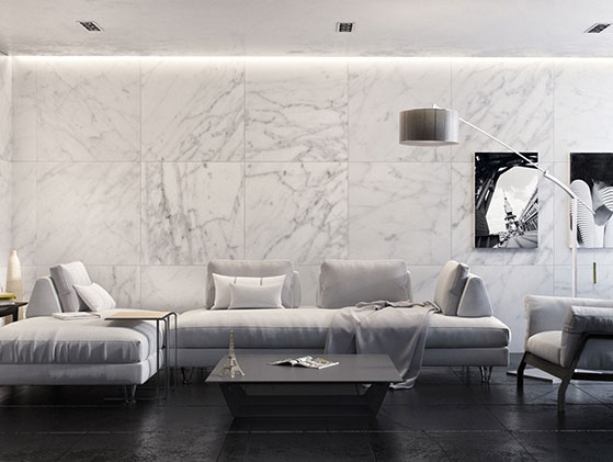Mármol Blanco Carrara Extra
