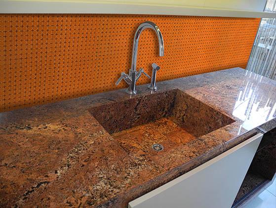 Mosaico Vitreo Naranja
