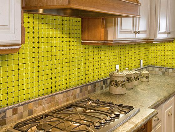 Mosaico Vitreo Amarillo