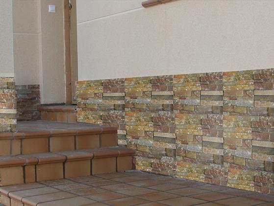 Cuarcita Gobi Yellow A Ledgestone Panels