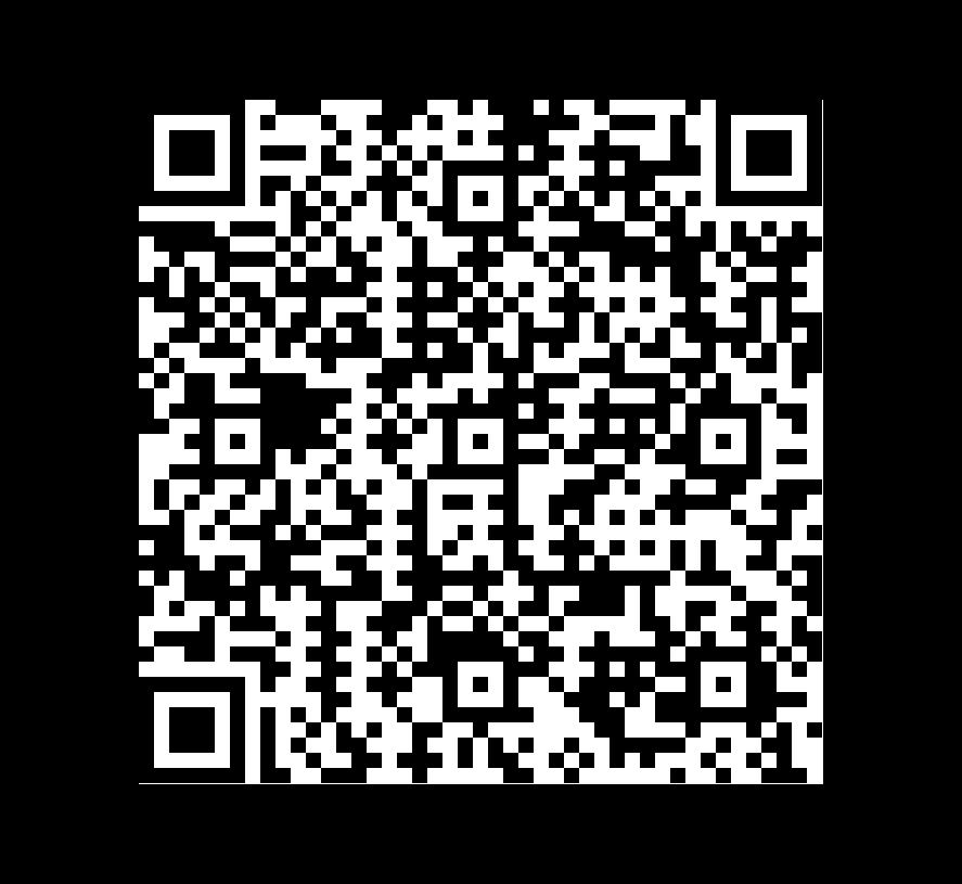 QR Code de Mármol Blue Sky
