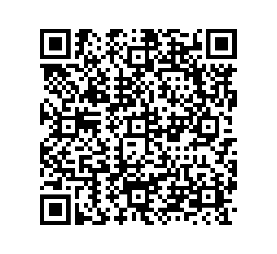 QR Code de Cuarcita Cinza Blue