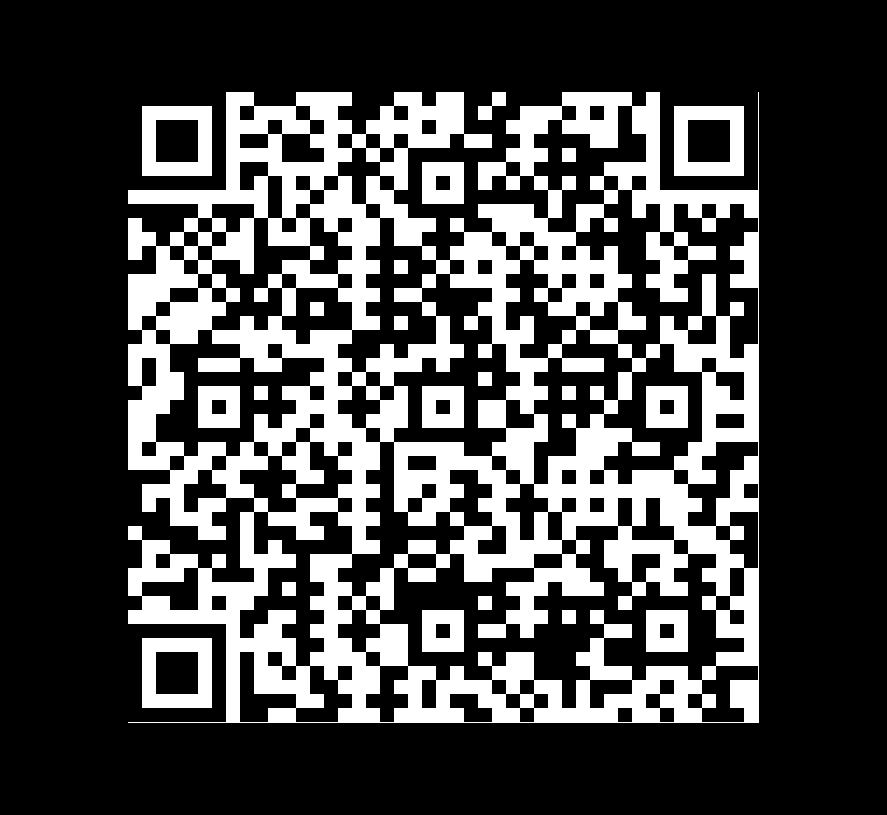 QR Code de Granito Premium Black Flameado Brushed