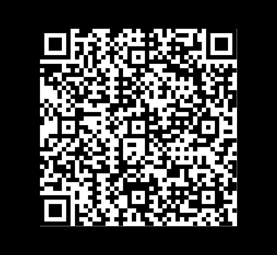 QR Code de Mármol Black and Gold