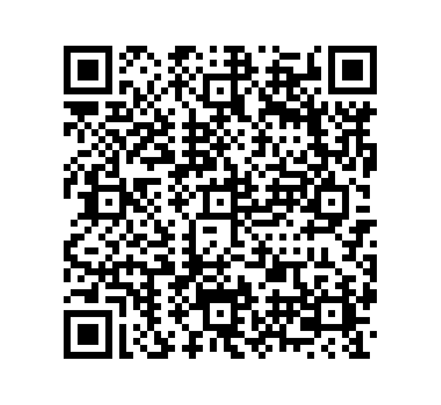 QR Code de Mármol Black Flower