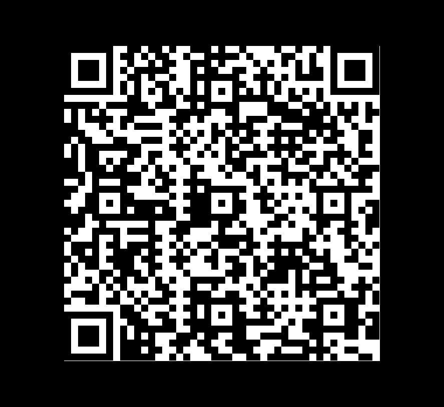 QR Code de Mármol Blanco Piel De Tigre Pulido Brillado