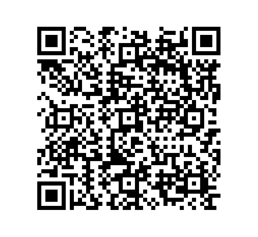 QR Code de Mármol Wood Stone Zebra Black