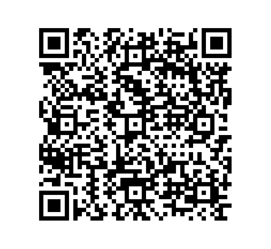 QR Code de Mármol Travertino Chocolate Honeado