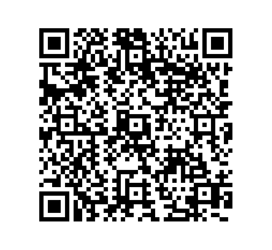 QR Code de Mármol Travertino Peach Cardeado