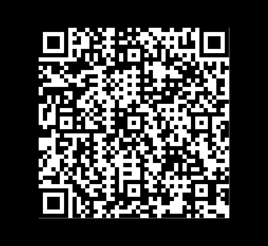 QR Code de Pizarra Aqua Green