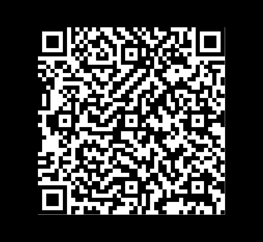 QR Code de Pizarra Gold Green