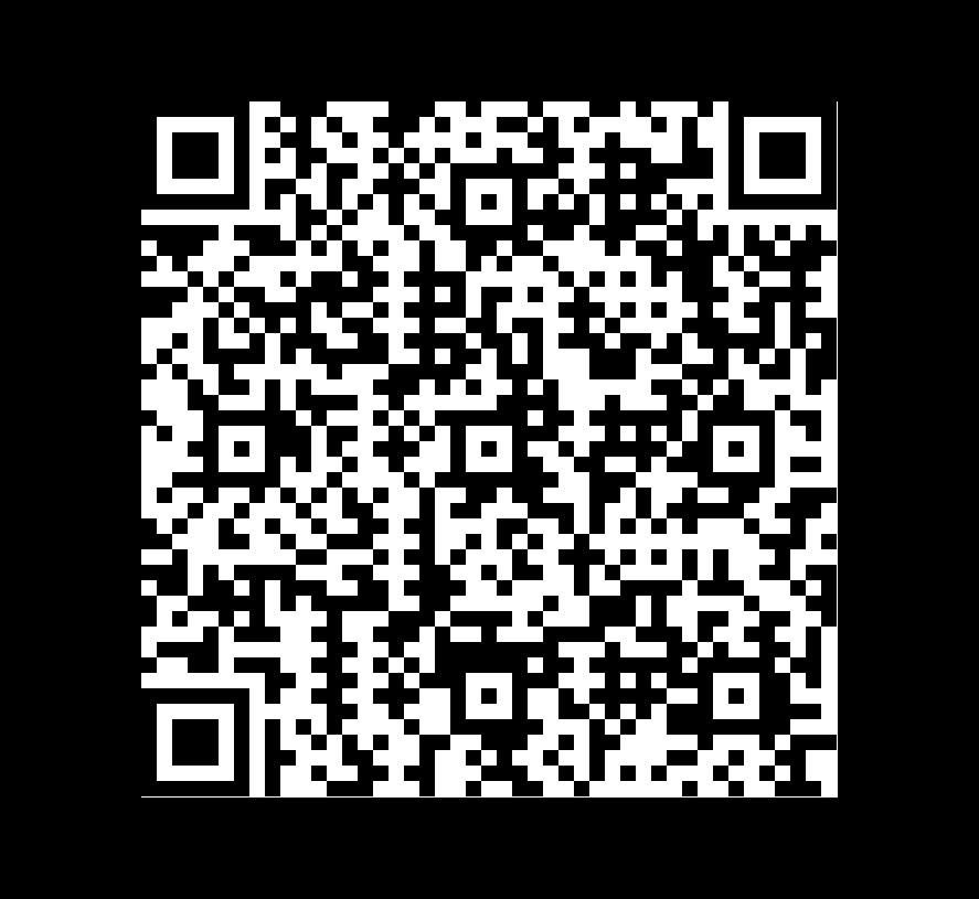 QR Code de Pizarra Mystique Negra Con Oro