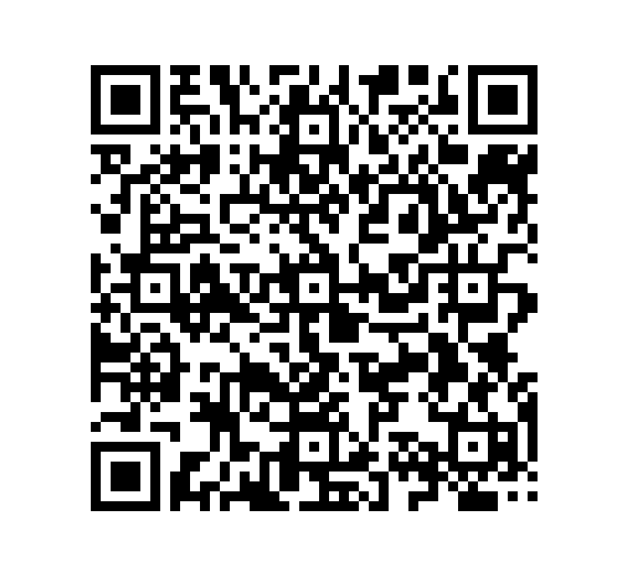 QR Code de Pizarra Mystique Premium Negra