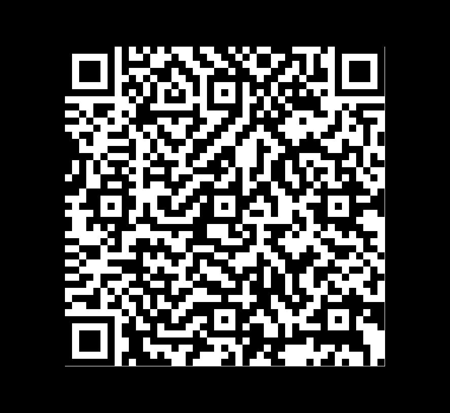 QR Code de Pizarra Balkan Black