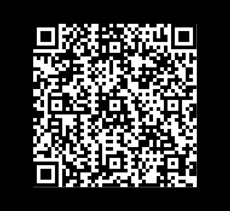 QR Code de Pizarra Mystique Negra