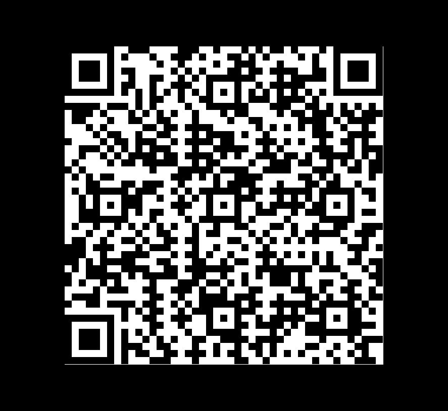 QR Code de Pizarra Negra Calibrada