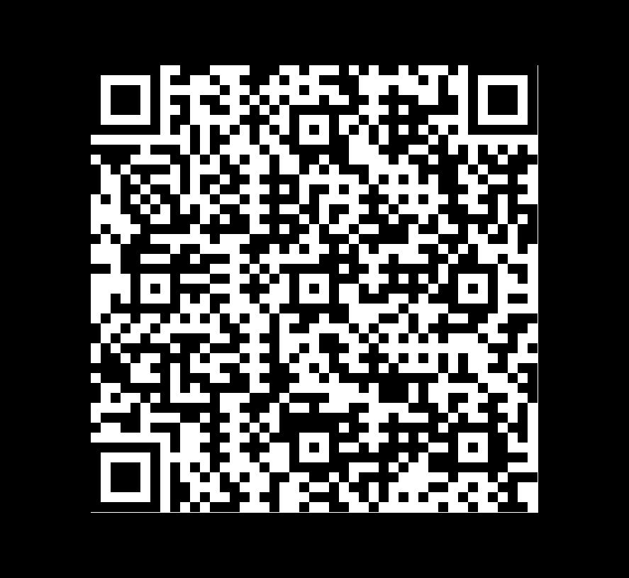 QR Code de Pizarra Negra Natural Calibrada