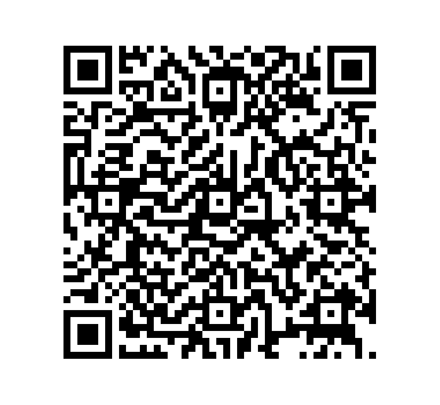QR Code de Pizarra Cosmos Black Brush