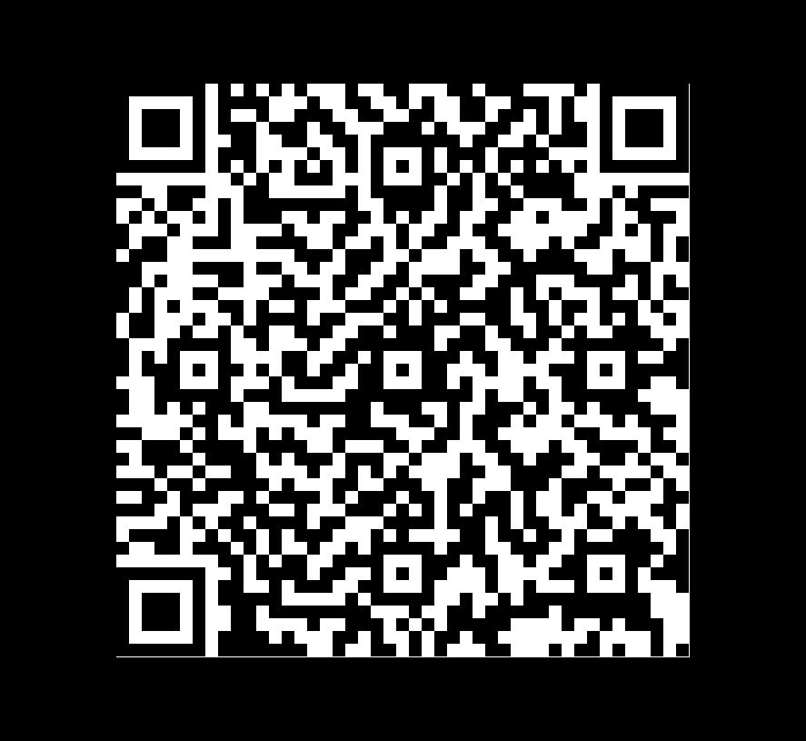 QR Code de Pizarra Gepardo Multicolor
