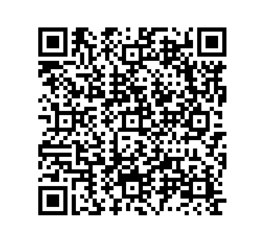 QR Code de Pizarra Saturno Black