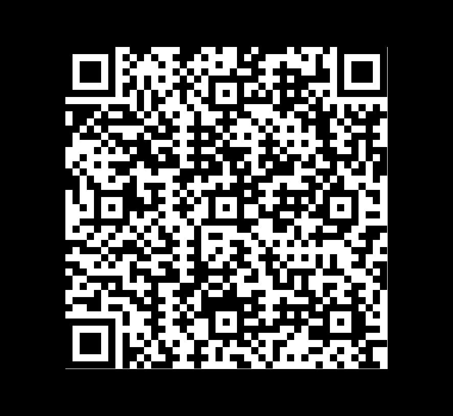 QR Code de Pizarra Montauk Black