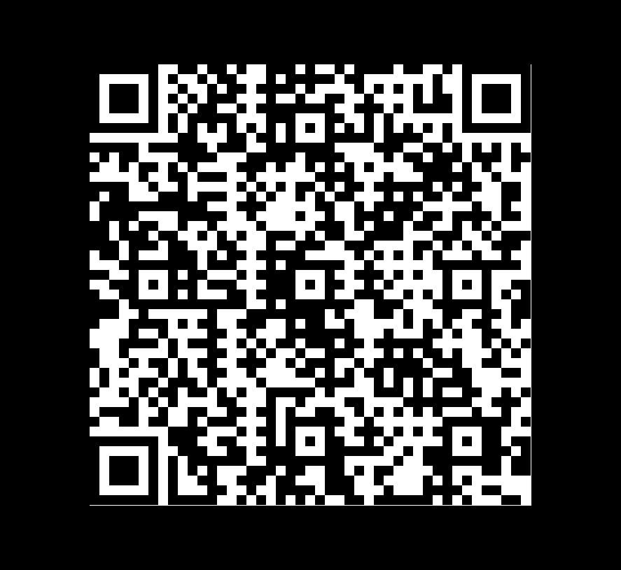 QR Code de Pizarra Montauk Black Patron