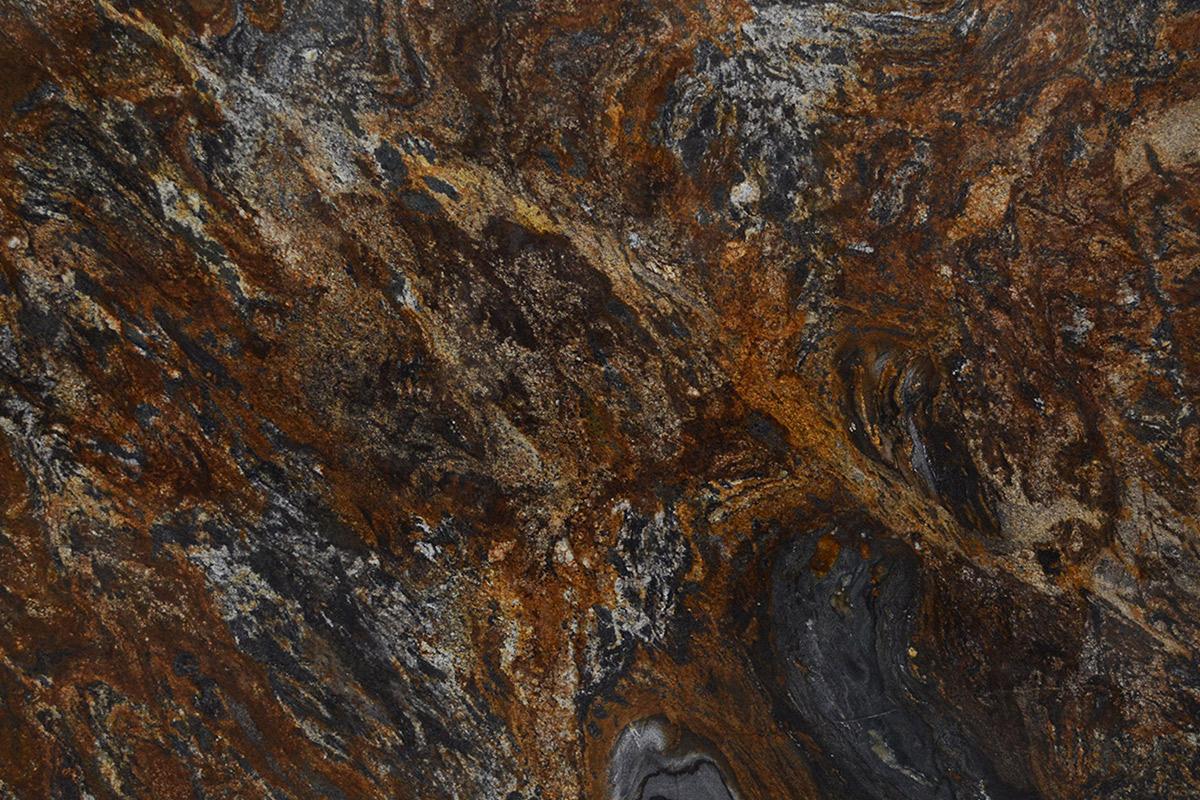 Granito Marron Magma Gold