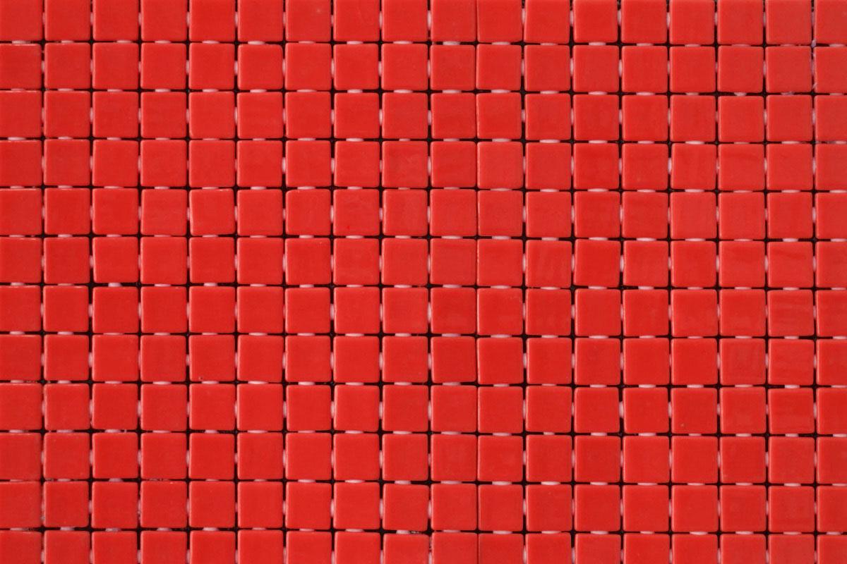 Mosaico Vitreo Rojo