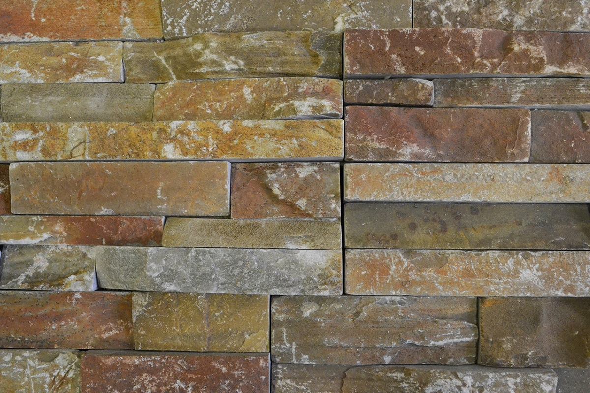 Cuarcita Gobi Yellow A Ledgestone Panels