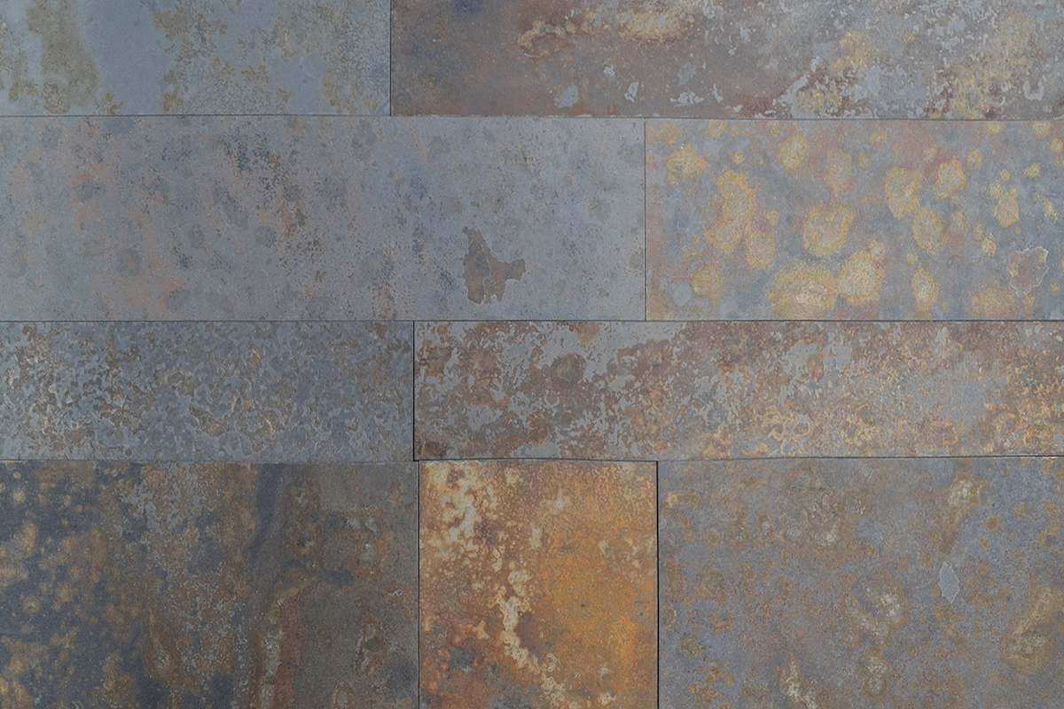 Pizarra Multicolor (Rustic Gold)Cal.Dif.Largos