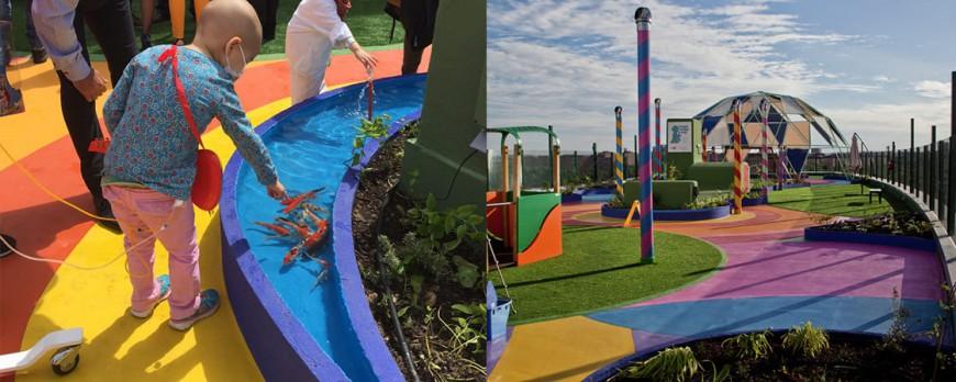 Jardín Infantil en la Azotea / Moneo Brock Studio