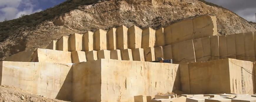 El increíble proceso de extracción del mármol