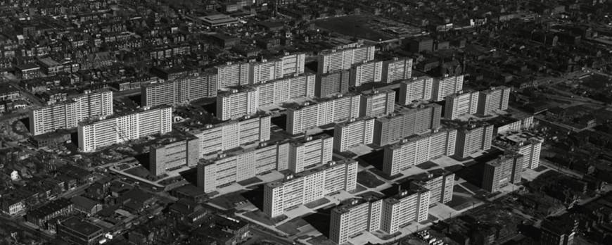 Ville Radieuse. Le Corbusier